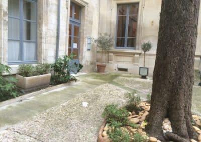 Mur et dalle Paysagiste vers Saint Rémy de Provence