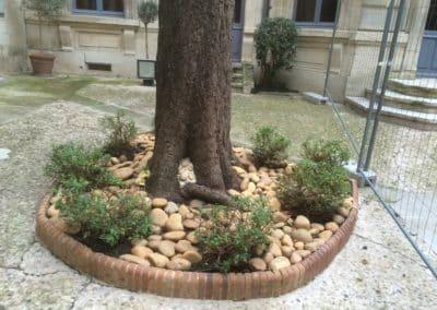 Mur et dalle-BGP Paysagiste à Villeneuve les Avignon