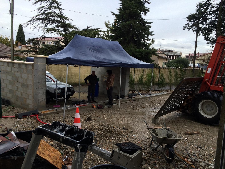 Pose portail BGP Paysagiste Avignon